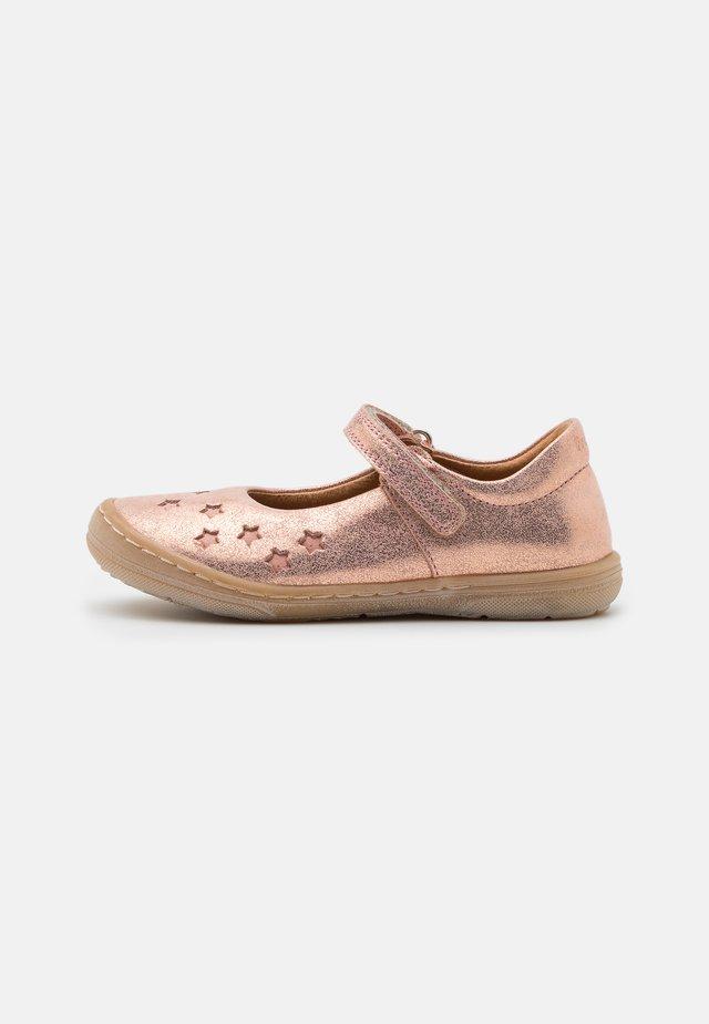 MARI  - Ankle strap ballet pumps - pink