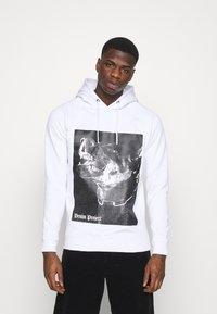 Denim Project - DOG HOODIE - Sweatshirt - white - 0