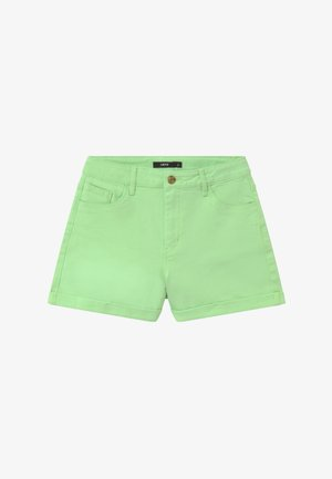 NLFATONES MOM  - Denim shorts - paradise green