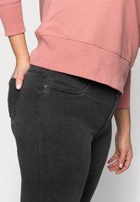 Noisy May Curve - Jeans Skinny Fit - dark grey denim - 4