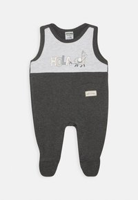 Jacky Baby - STRAMPLER HOLA LAMA 2 PACK - Jumpsuit - anthrazit/hellgrau - 1