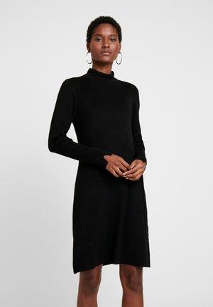 Pletené šaty - forever black