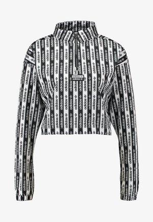 HALF ZIP - Sweatshirts - black/white