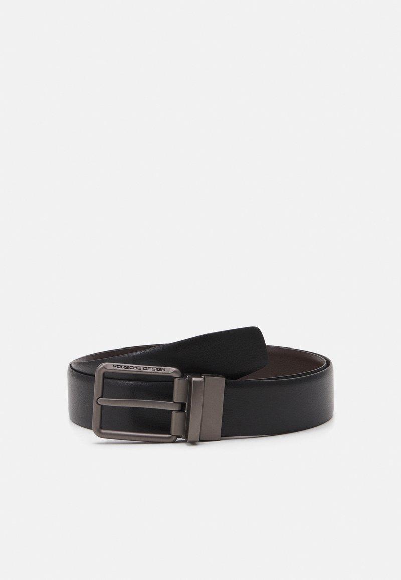 Porsche Design - Belt - black/dark brown