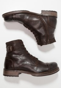 Jack & Jones - JFWSITI - Lace-up ankle boots - brown stone - 1