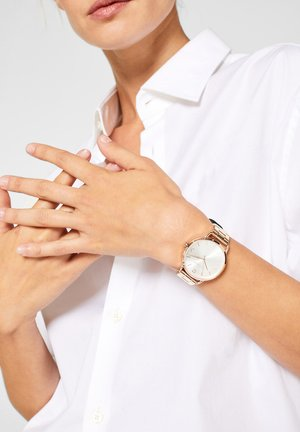 MIT GLIEDERARMBAND - Watch - rose gold