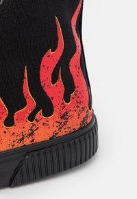 YOURTURN - UNISEX - Höga sneakers - black - 5