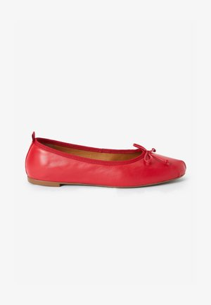 SIGNATURE FOREVER COMFORT RUCHED  - Ballerines - red