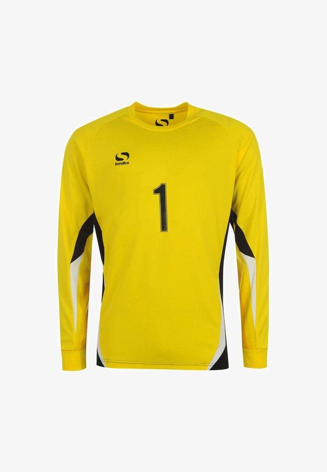 CORE - T-shirt à manches longues - gelb