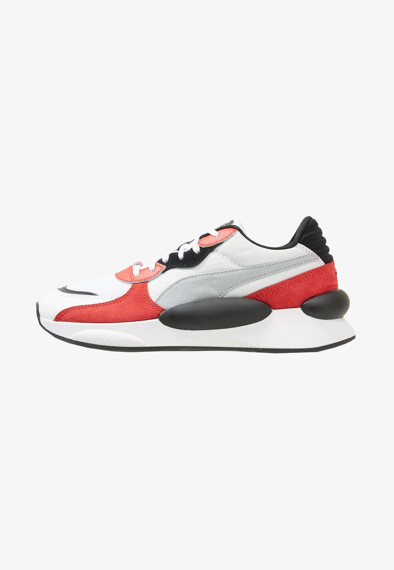 Puma - RS 9.8 SPACE - Zapatillas - white/high risk red