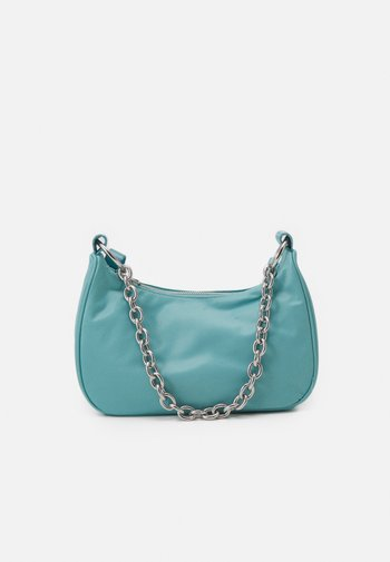CHAIN HANDBAG - Handbag - aqua blue