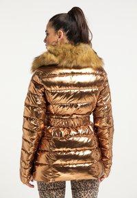 faina - Winter jacket - gold - 2