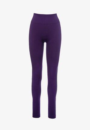 TUXEDO STUD  - Legging - purple