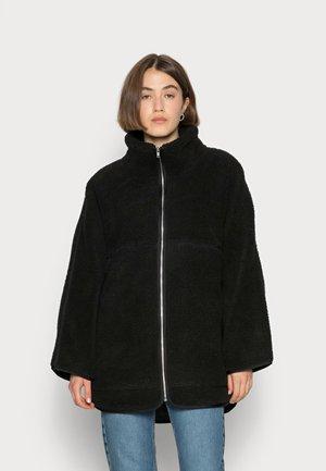 INDOOR TEDDY - Winter jacket - black