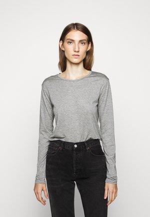 WOMEN´S - Long sleeved top - grey heather melange