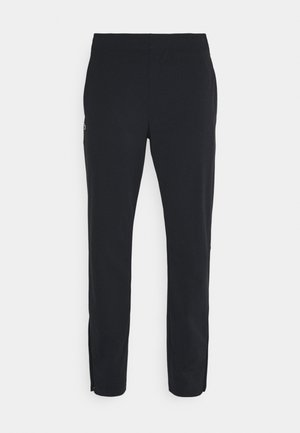 NAMING TRACK PANT - Verryttelyhousut - black/white