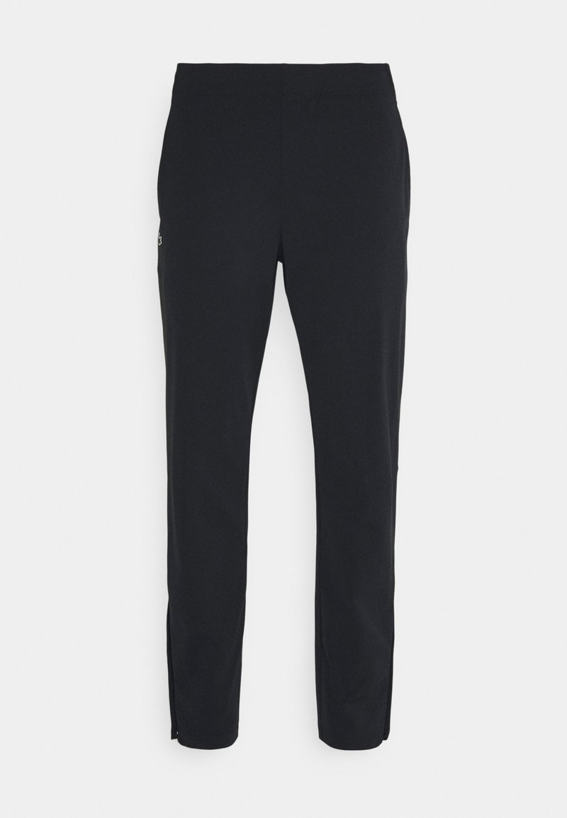 Lacoste Sport - NAMING TRACK PANT - Tracksuit bottoms - black/white