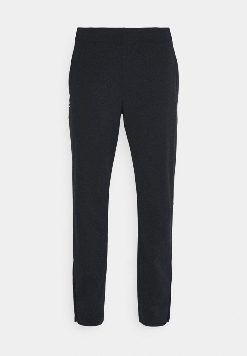 Lacoste Sport - NAMING TRACK PANT - Trainingsbroek - black/white