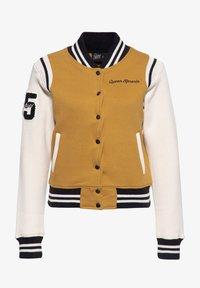 Queen Kerosin - SPEEDWAY QUEENS - Light jacket - hellbraun - 0