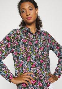 JDY - JDYLION - Button-down blouse - black/multicolor - 3