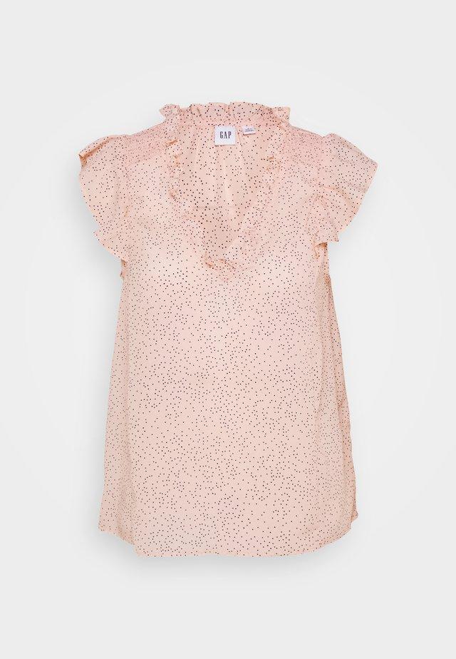 Blouse - chalk pink