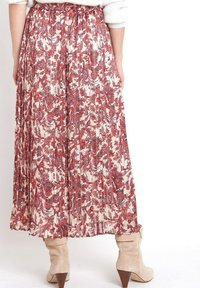 Maison 123 - Pleated skirt - rouge - 1