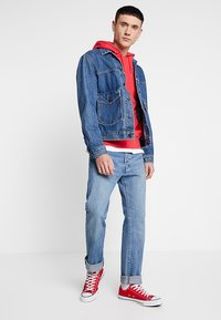 Levi's® - PATCH POCKET TRUCKER - Denim jacket - blue denim - 1