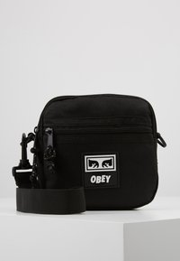 Obey Clothing - CONDITIONS TRAVELER BAG - Across body bag - black - 0