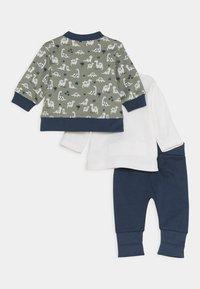 Staccato - SET - Zip-up hoodie - dark blue/khaki - 1