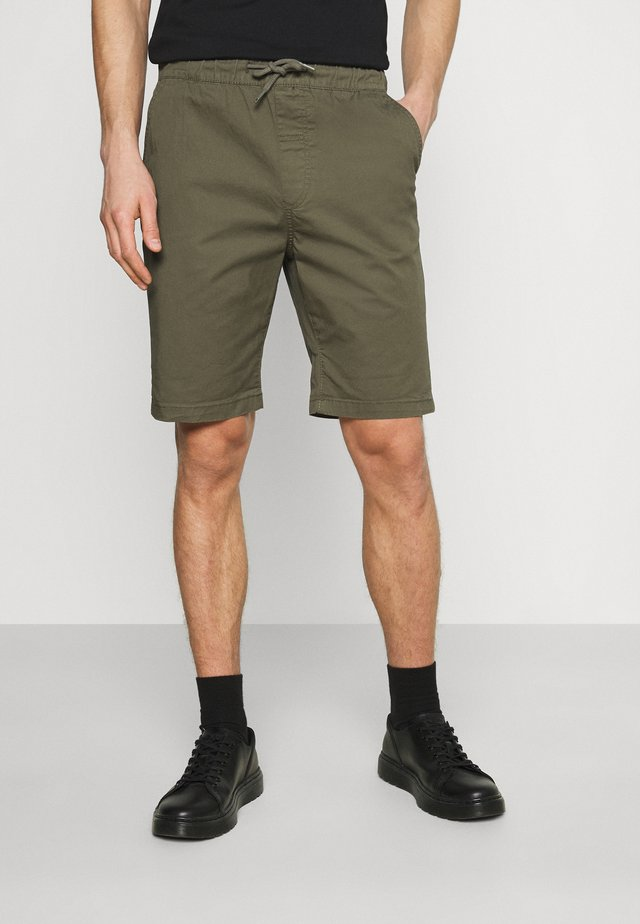 POVL ELASTICATED - Shorts - ivy green