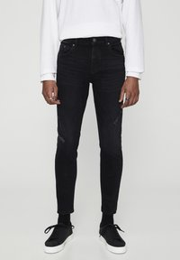 PULL&BEAR - Jeans Skinny Fit - dark grey - 0