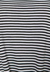 Lauren Ralph Lauren Woman - GENARO SHORT SLEEVE - Basic T-shirt - black/white - 5