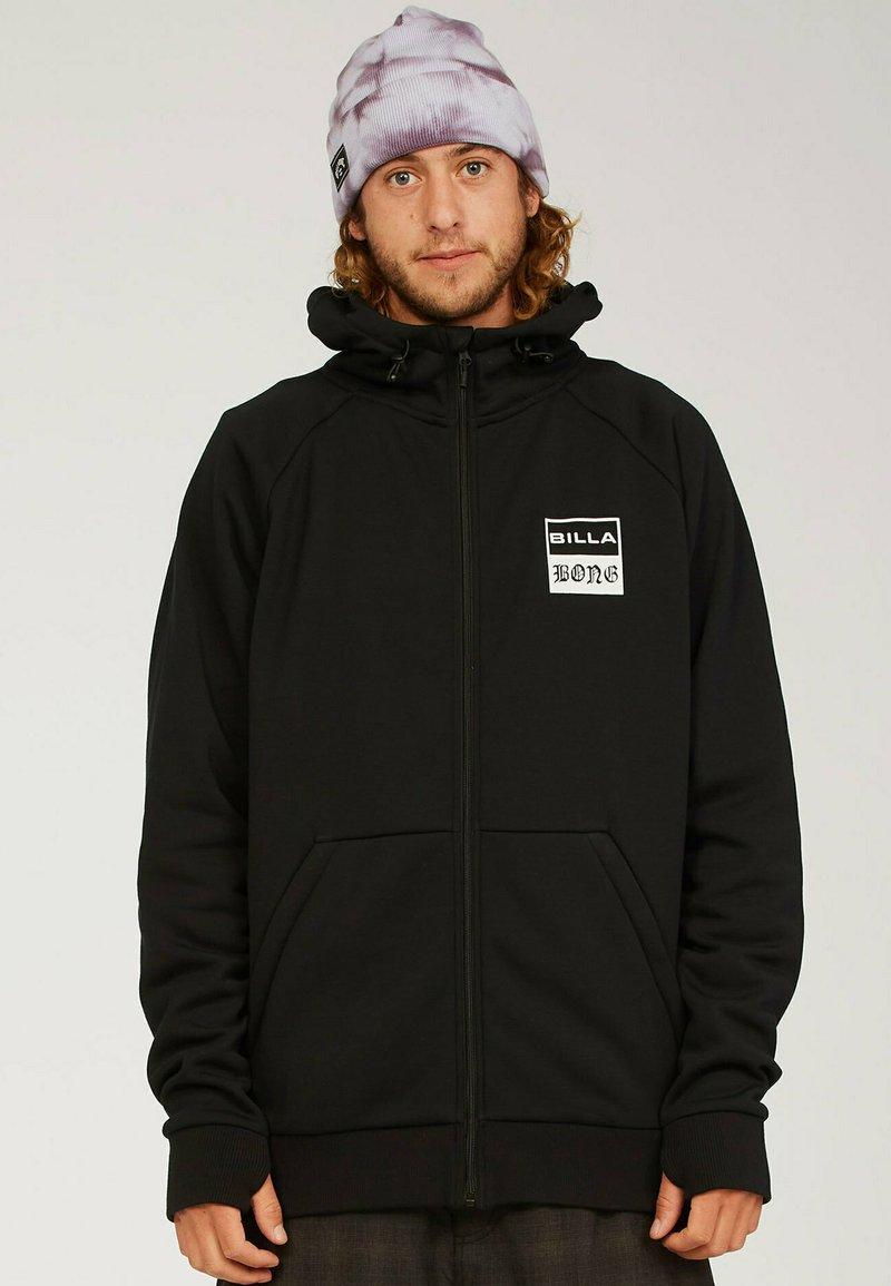 Billabong - Zip-up sweatshirt - black