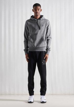 Sweatshirt - twisted black grit