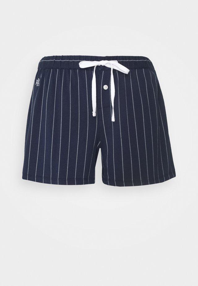 SEPARATE BOX SHORTS - Spodnie od piżamy - navy