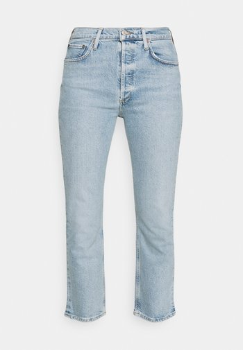 RILEY CROP - Jeans straight leg - shiver