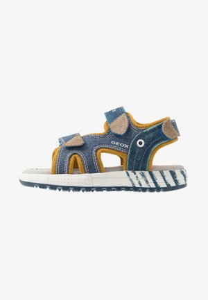 ALBEN BOY - Walking sandals - avio/beige