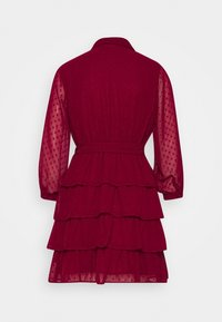 U Collection by Forever Unique - Shirt dress - burgundy - 1