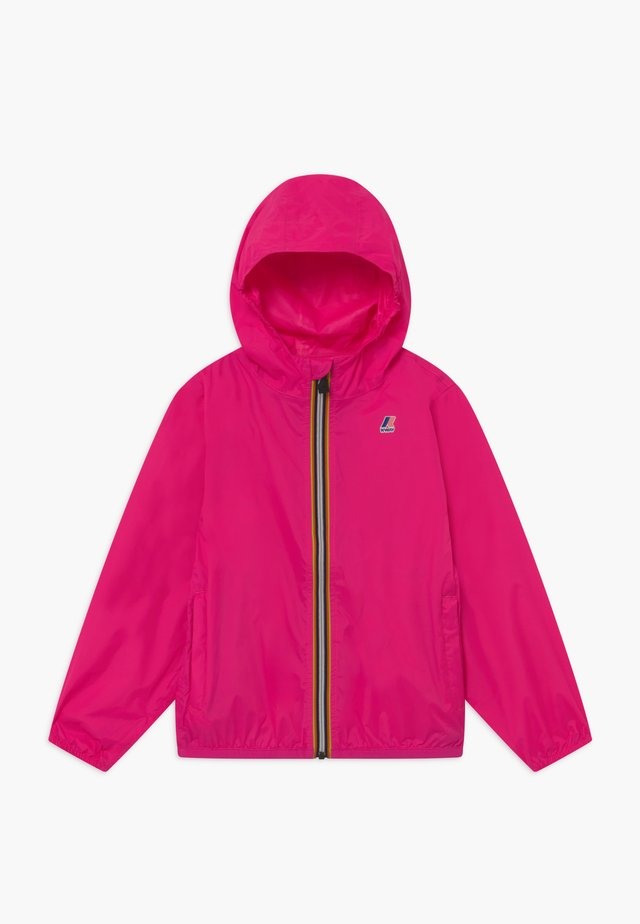 LE VRAI CLAUDE - Waterproof jacket - fuchsia fluo