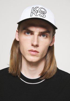 STACKED HAT UNISEX - Cap - white