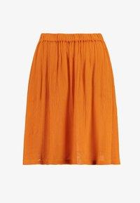 KADALUZ ANNA SKIRT - A-line skirt - burnt orange