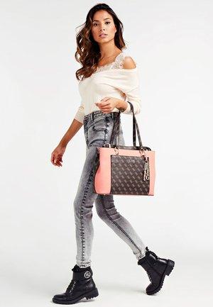 Handbag - mehrfarbig braun