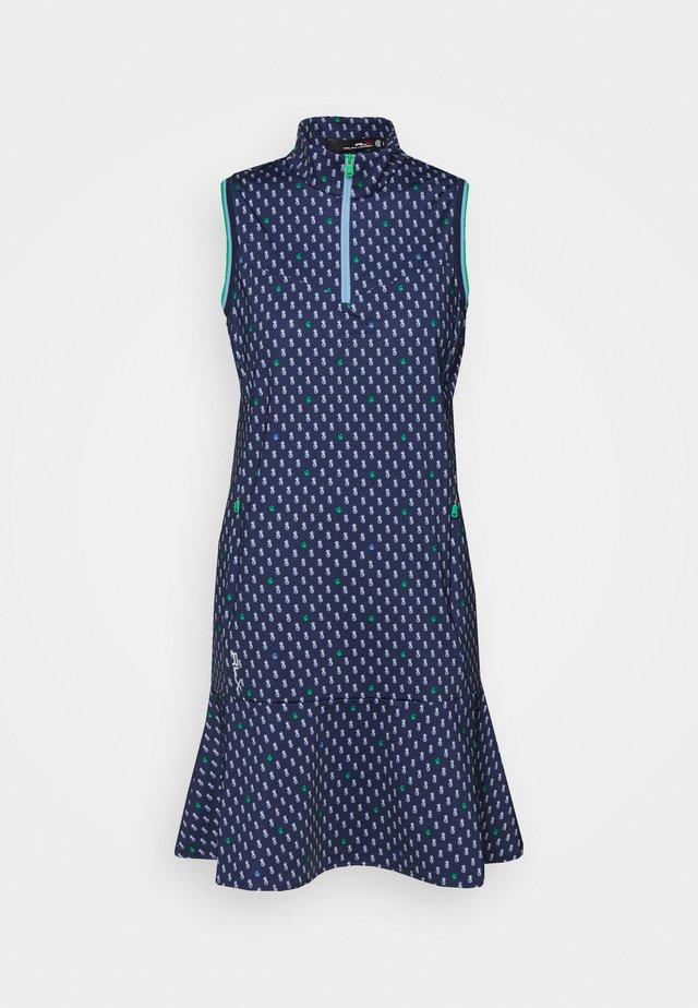 DRESS SLEEVELESS CASUAL  - Sports dress - dark blue