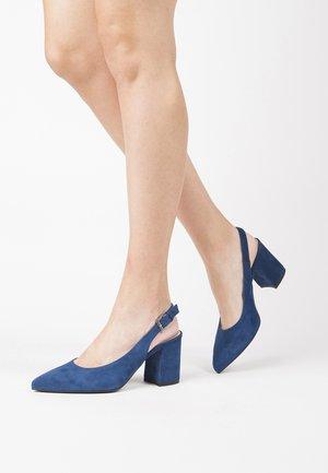 Classic heels - cobalto