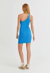 PULL&BEAR - Shift dress - blue - 2
