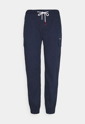 ETHAN JOGGER - Cargo trousers - twilight navy