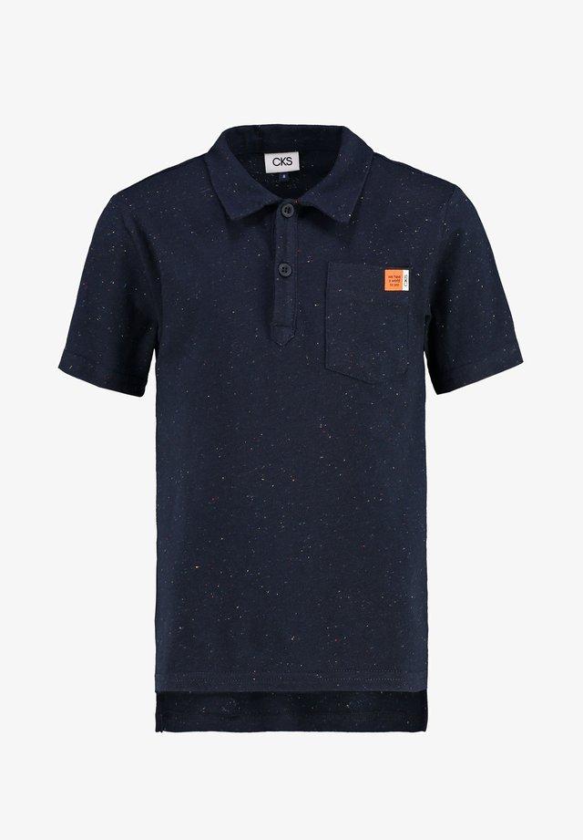YACOBS - Polo shirt - navy