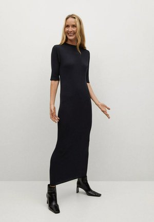 CANE-A - Maxi dress - zwart