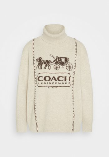 HORSE AND CARRIAGE - Jumper - oatmeal