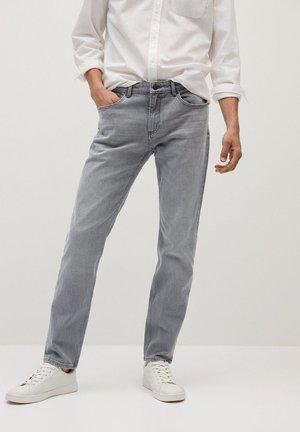 BOB7 - Straight leg jeans - denim grau
